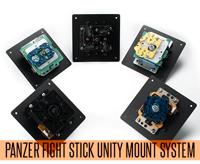Panzer Fight Stick 3 Unity Mount