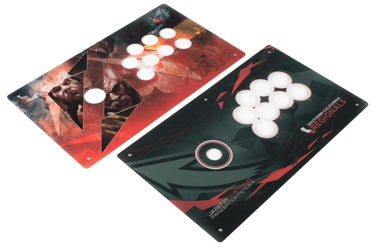 Panzer Fight Stick 3 - Printed Plexi