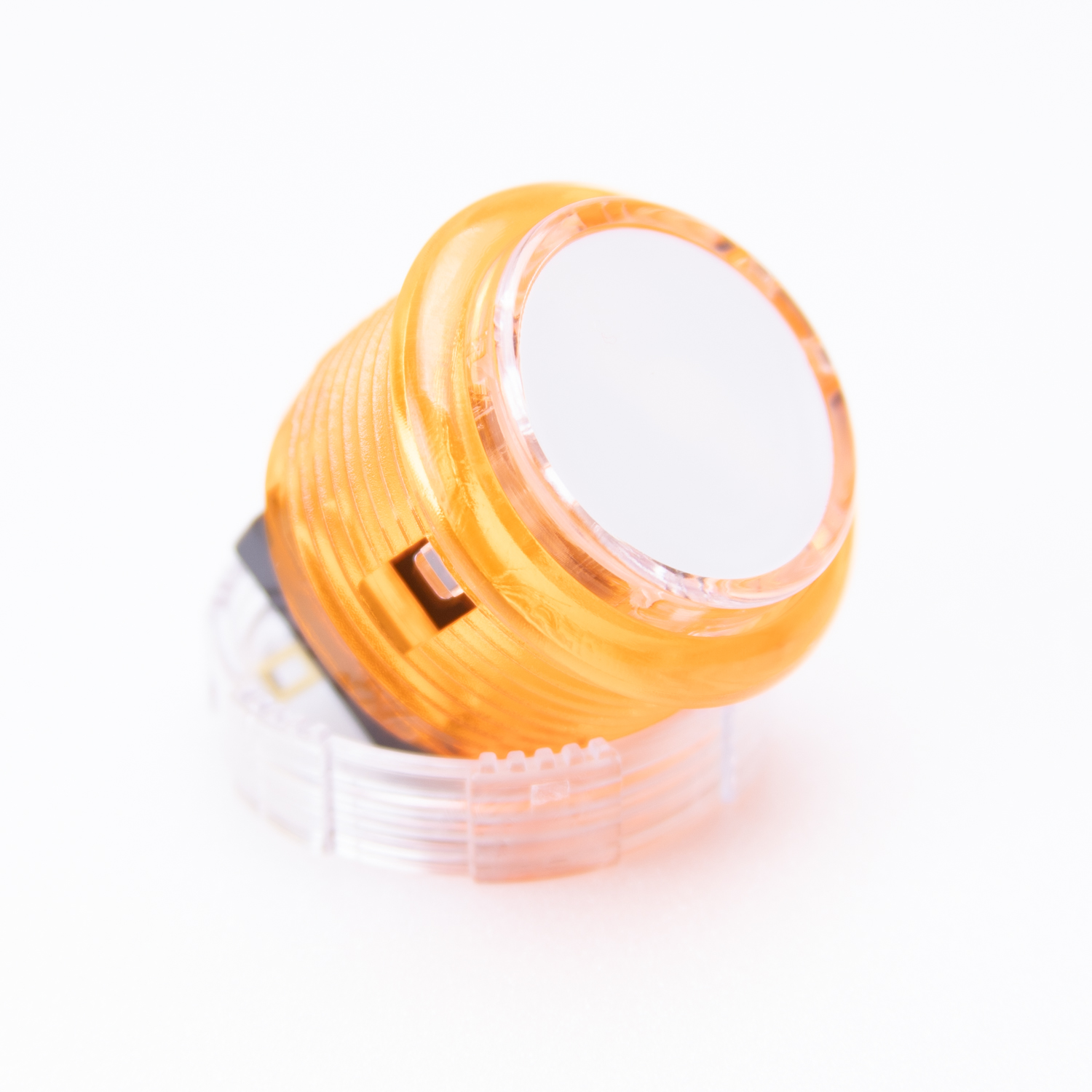 Samducksa 30mm Translucent [Orange / White Cap]