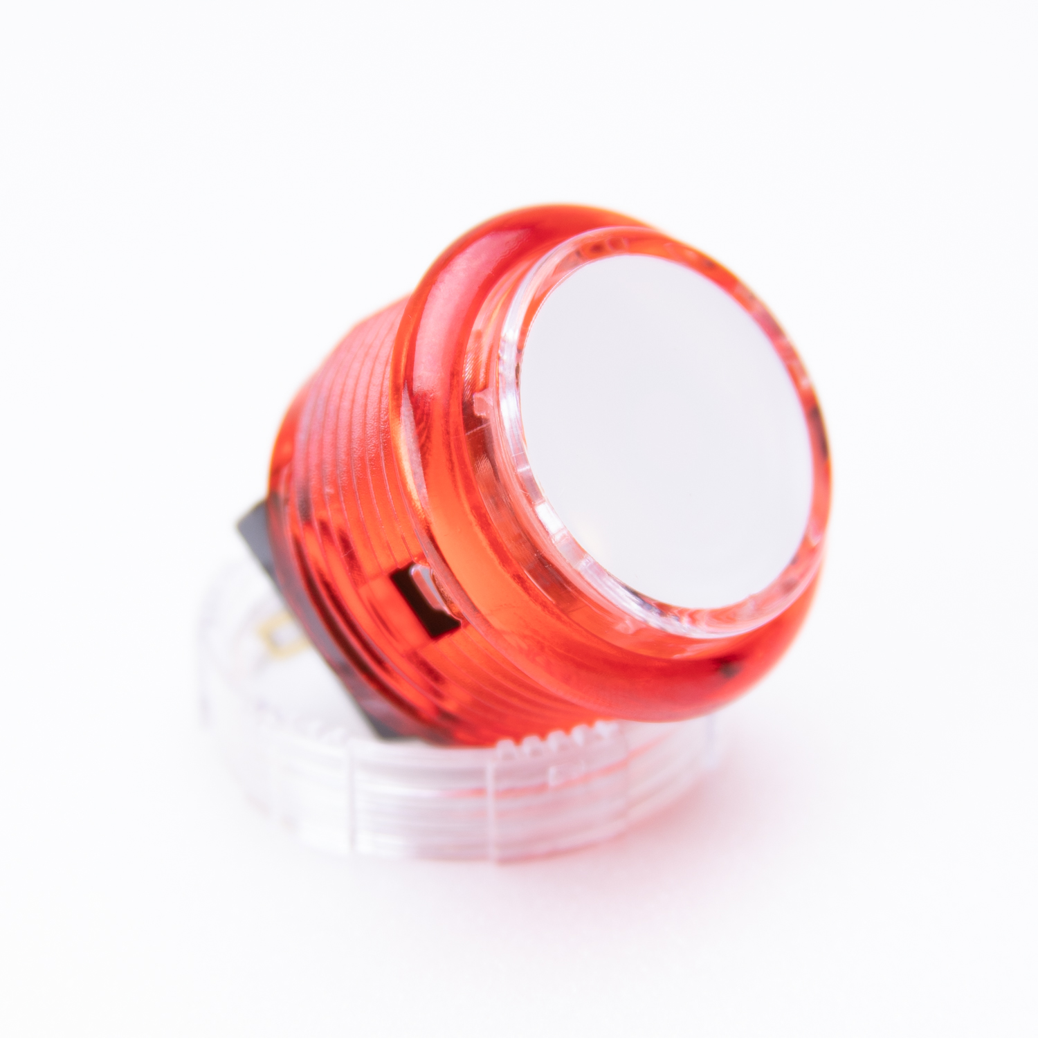 Samducksa 30mm Translucent [Red / White Cap]