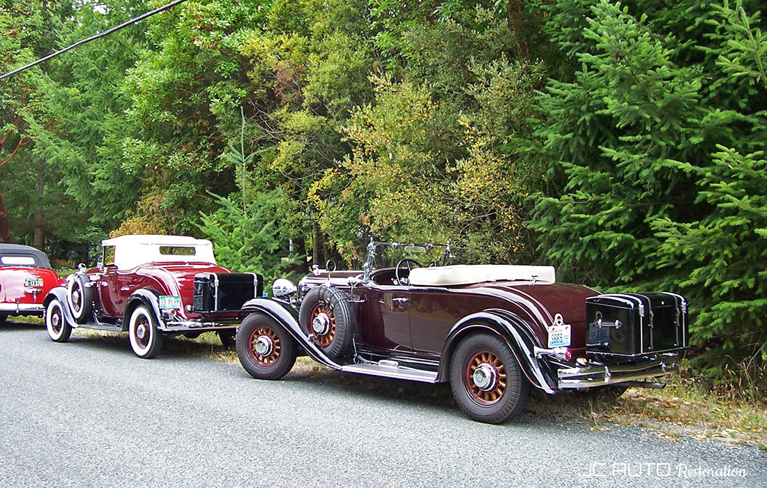 Sidney, BC: Walter P Chrysler Club regional meet.  2011