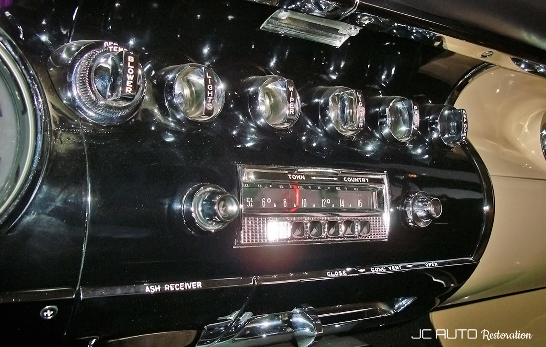 Restored switches and radio