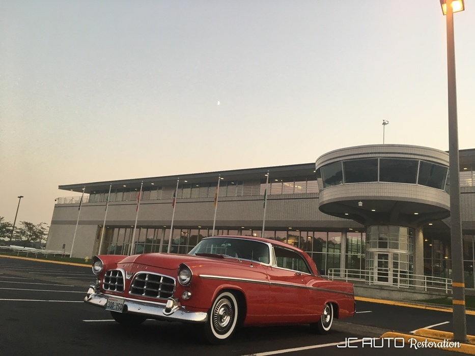Museum of Flight, Tukwila, Washington, as part of the Walter P Chrysler Club national meet.  August 2017.