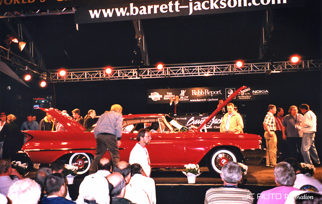 On the block at the 2000 Barrett-Jackson auction