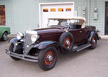 1931 Chrysler CD Deluxe Roadster