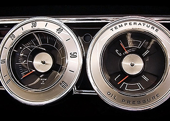 1966 Charger Gauges