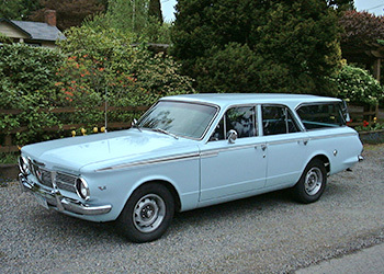 1965 Plymouth Valiant Station Wagon