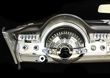 1960 Chrysler 300F Gauges
