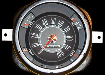 1950 Ford Gauges