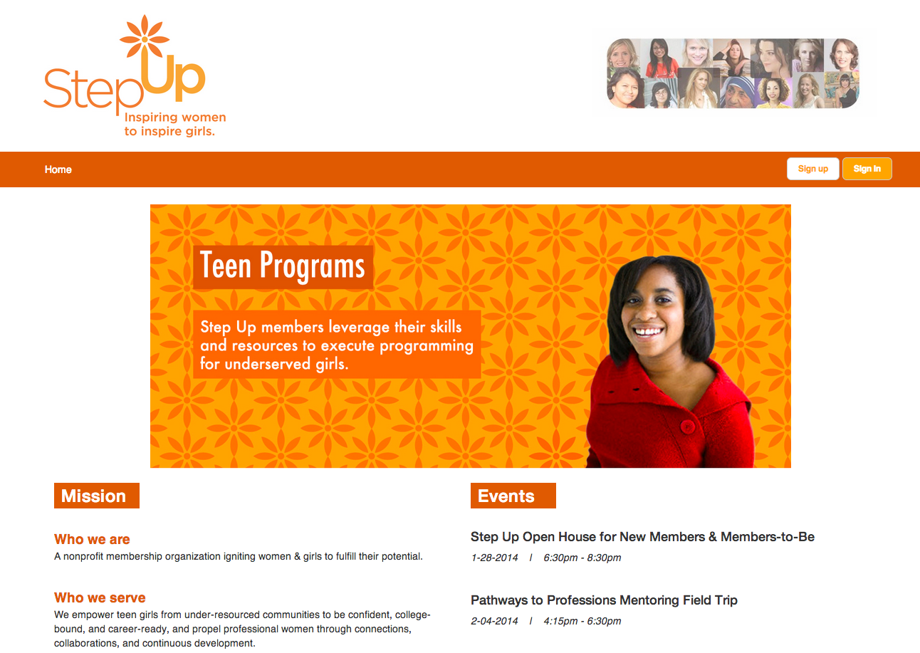 Step Up Website