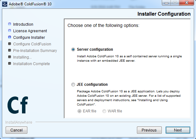 C:\Users\jeff\Desktop\JC\CF Developer\ColdFusion Server Configure Installer