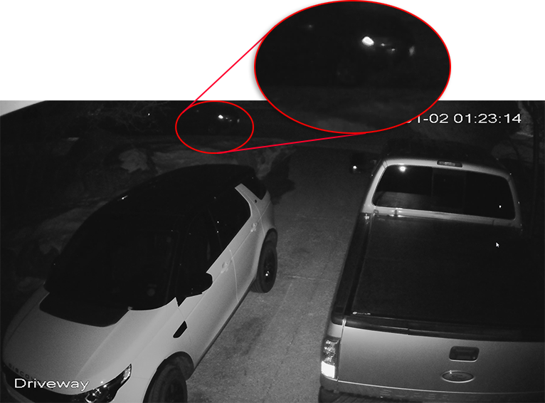 Driveway Security Camera Night Zoom