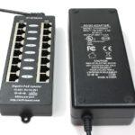 WT-GPOE-8-48v120w Gigabit Passive PoE 8 Port Power over Ethernet Injector