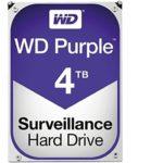 WD Purple 4TB Surveillance Hard Disk Drive 5400 RPM SATA 6 Gb 64MB Cache 3.5 Inch - WD40PURZ