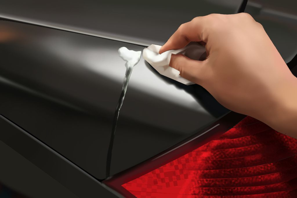 How To Remove Egg Stains From Car Paint