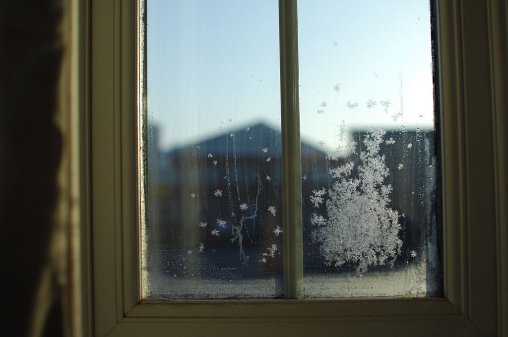 How to prevent frost and ice inside house windows jerry - What temperature is too cold to paint outside ...