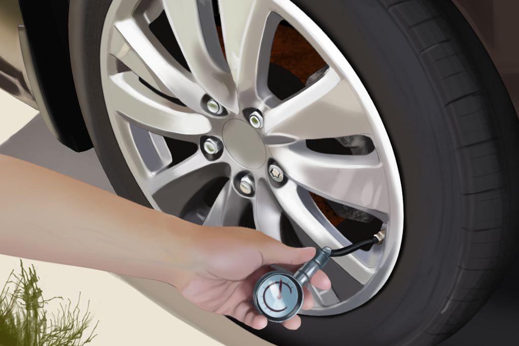 Check Tire Pressure >> How To Check Tire Pressure Jerry Advice