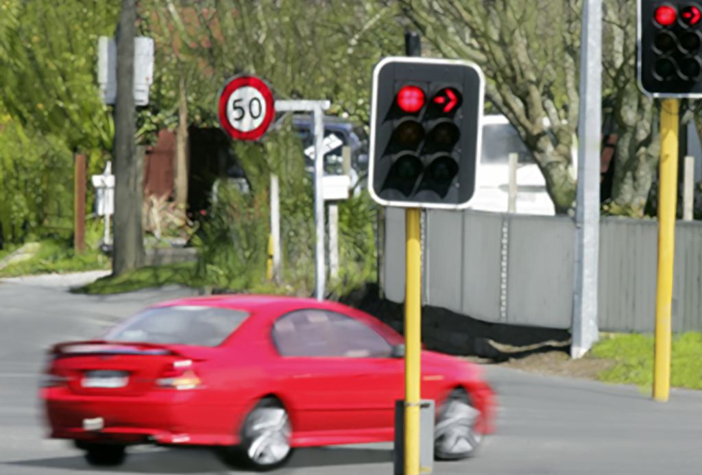 How Running A Red Light Ticket Affects Your Car Insurance Rate