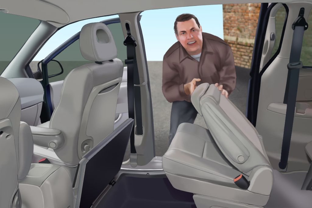 Stow And Go Seating >> How To Stow Away The Stow N Go Seats In A Chrysler Or Dodge