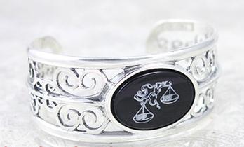 Sterling Silver Attorneys Cuff Bracelet