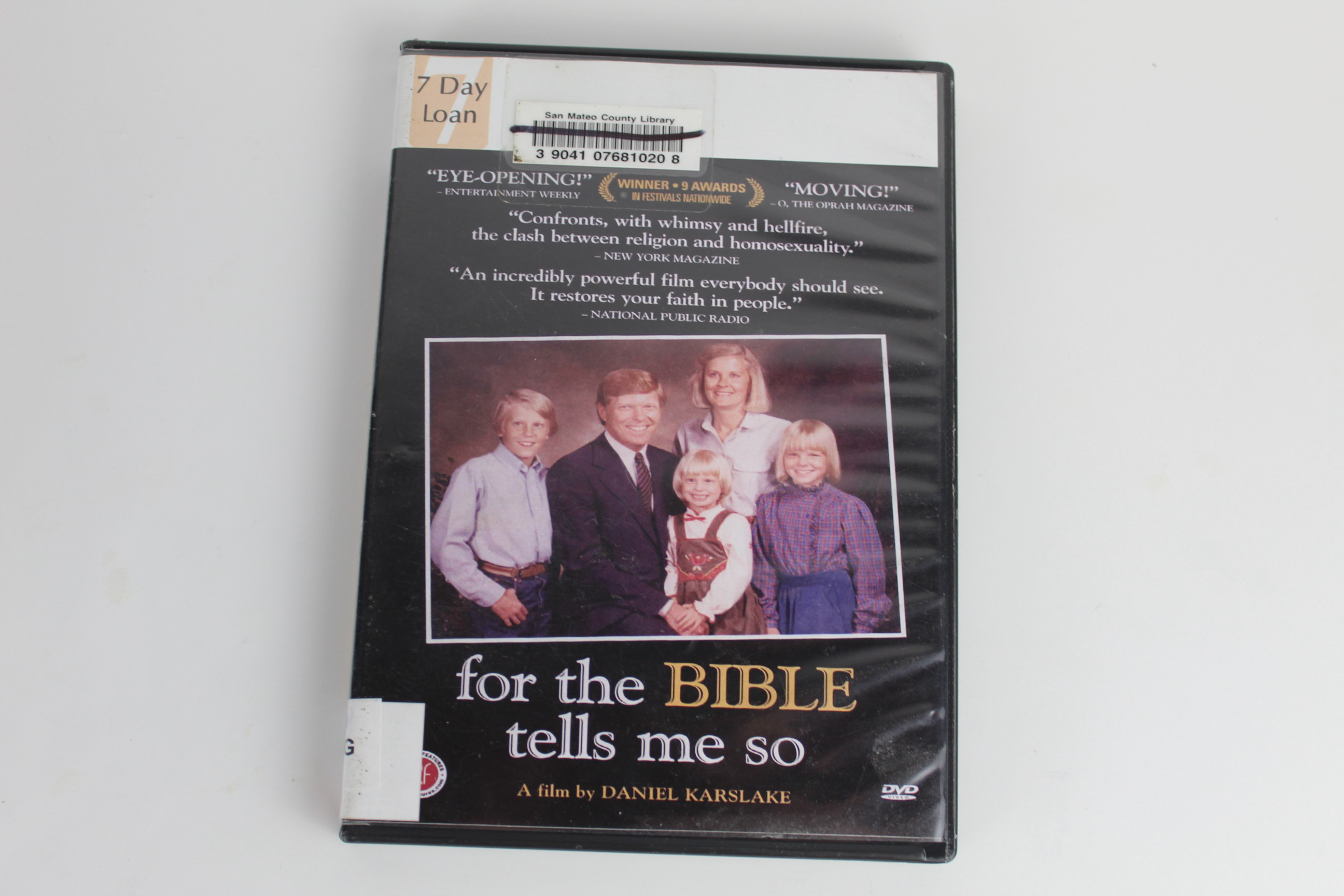 Details about For the Bible Tells Me So (DVD, 2008) Christianity Gay/Lesbian