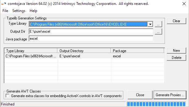 J-Integra COM for Excel 2016 and Windows 10