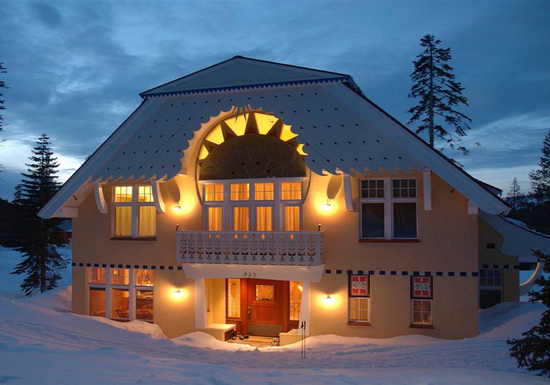 A magical winter retreat with the whimsy of a fairy tale for children and adults alike.