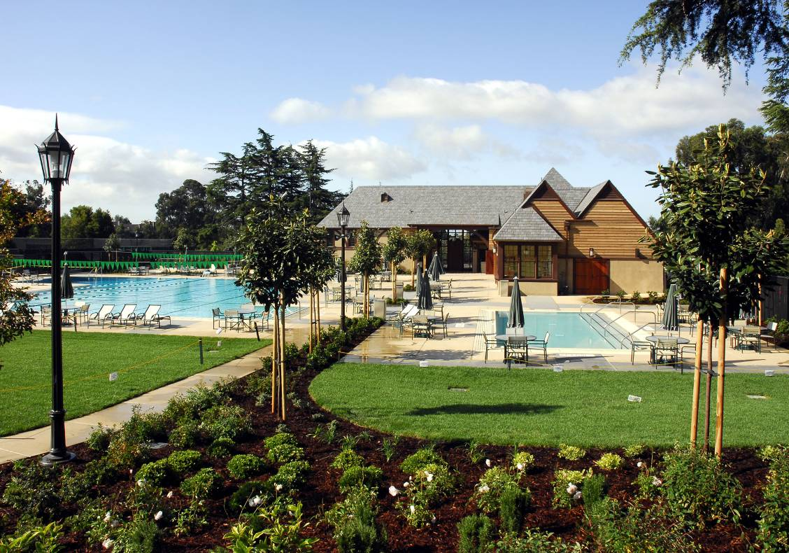 The Aquatic Center added a new pool, landscaping, and an 8,000 square foot pool house.