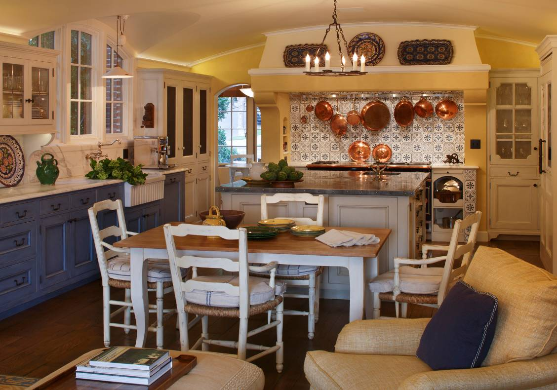 French Country Style Kitchen John Malick Amp Associates