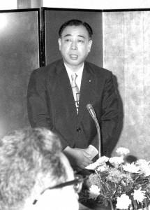 公明党委員長 竹入  義勝 写真 2