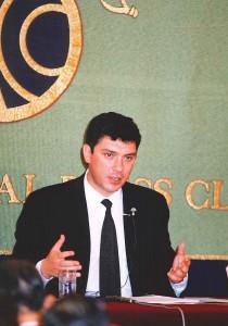 第一副首相 ボリス・ネムツォフ 写真 2