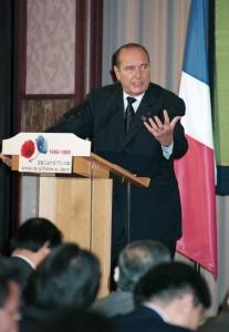 ジャック・シラク・フランス大統領 写真 3