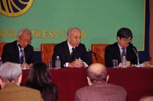 シモン・ペレス・イスラエル副首相 写真 3