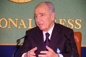 シモン・ペレス・イスラエル副首相 写真 2