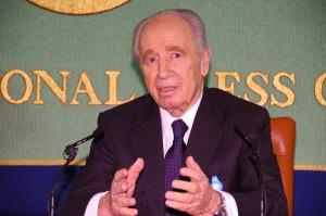 シモン・ペレス・イスラエル副首相 写真 1