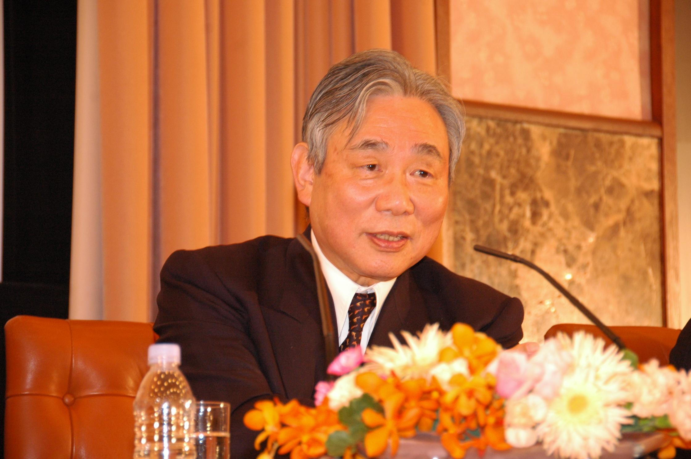 2008年12月26日          00:00 〜 00:00                葛西敬之 JR東海会長
