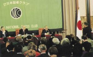 ゴルバチョフ・ソ連大統領記者会見