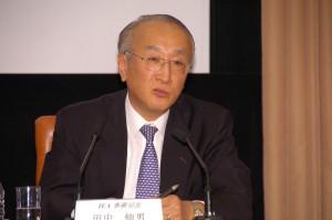 国際エネルギー機関(IEA)事務局長 田中伸男 写真 2
