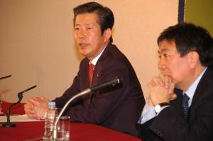 公明党代表 山口那津男 写真 3