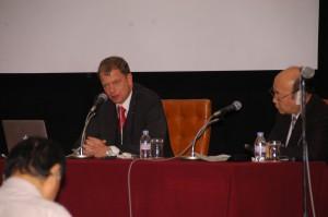 トーマス・コーベリエル・自然エネルギー財団理事長 写真 1