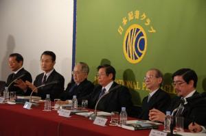 福島原発事故独立検証委員会(民間事故調) 報告書発表会見 写真 2