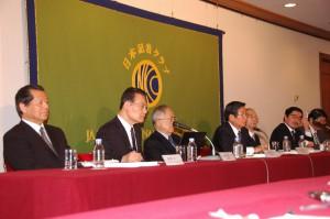 福島原発事故独立検証委員会(民間事故調) 報告書発表会見 写真 1