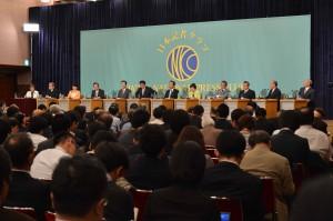 11党党首討論会 写真 2