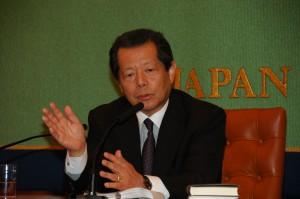 日本再建イニシアティブ理事長 船橋洋一 写真 1