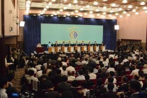 9党党首討論会 写真 2