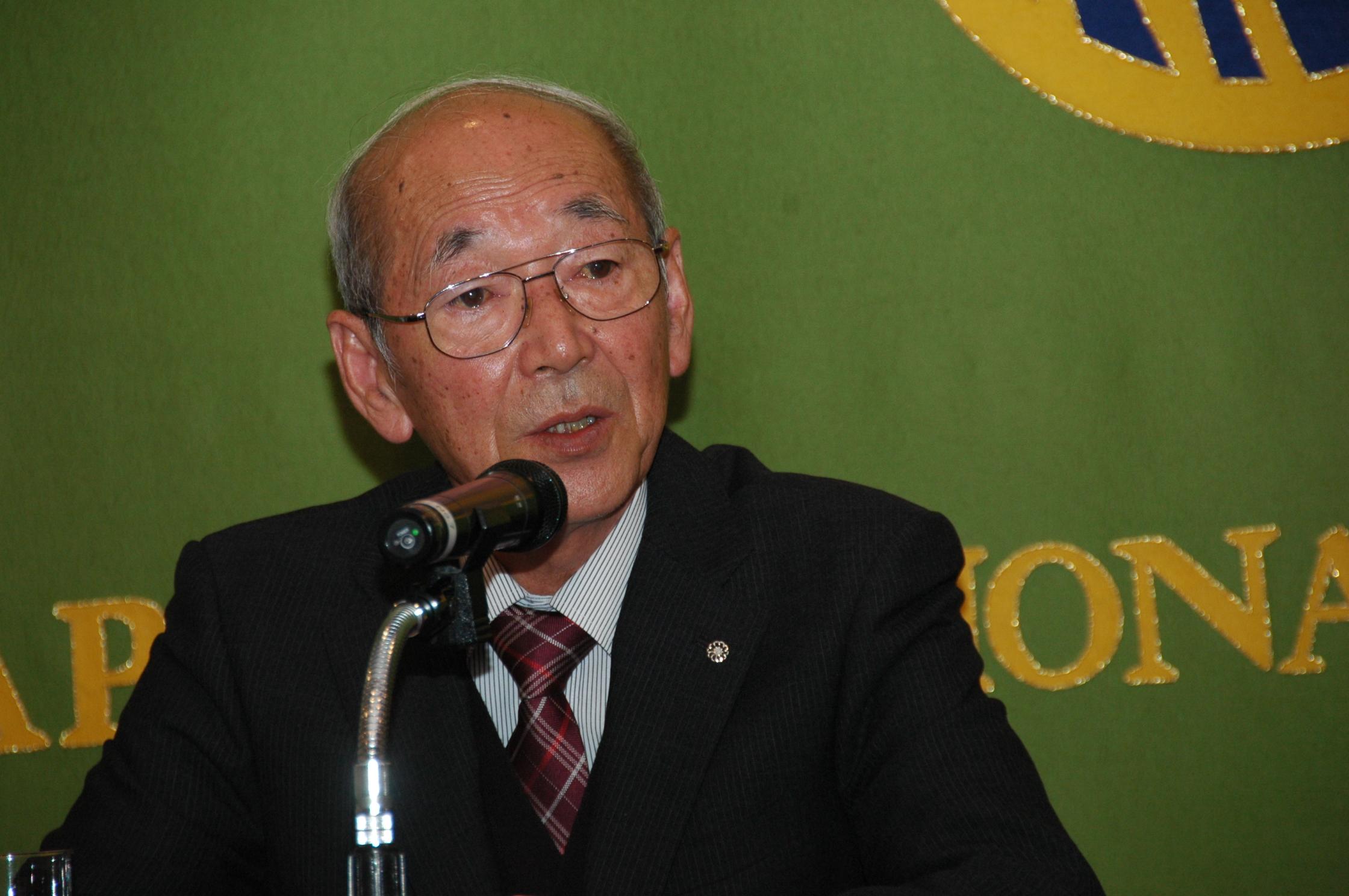 馬場有 浪江町長 記者会見 | 日...