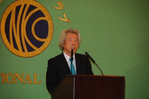 元首相  小泉純一郎 写真 2