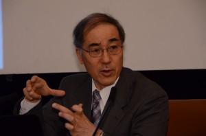 技術研究組合 国際廃炉研究開発機構(IRID)理事長 山名元  写真 1