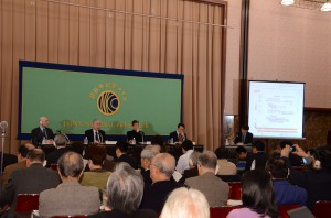 討論会「福島原発事故から3年経つ今、われわれは何を学んだか」 写真 1
