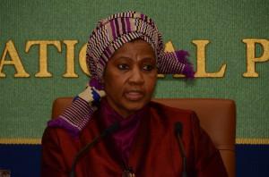 UN Women事務局長 プムズィレ・ムランボ・ヌクカ 写真 1